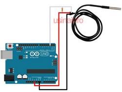 Sensor de temperatura tipo j